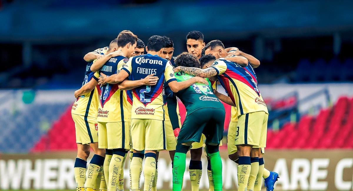 América avanza en Concachampions pese a caer con Olimpia de Honduras. Foto: Twitter @ClubAmerica