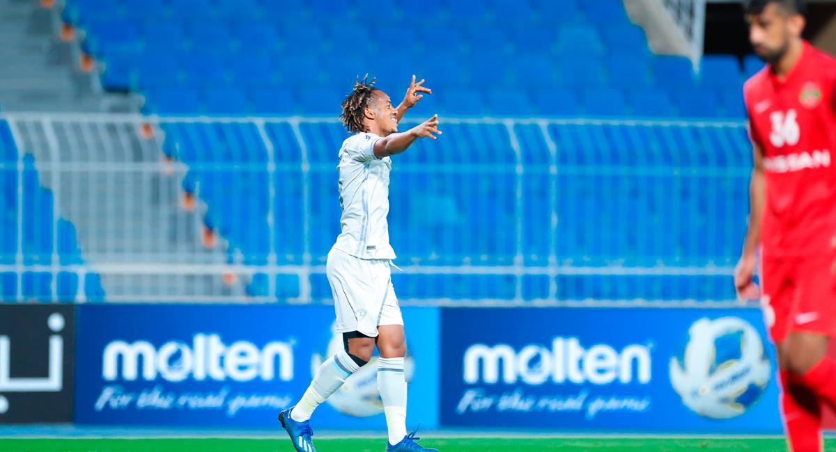 André Carrillo marcó un golazo para el 2-0 de Al Hilal. Foto: Twitter @Alhilal_EN
