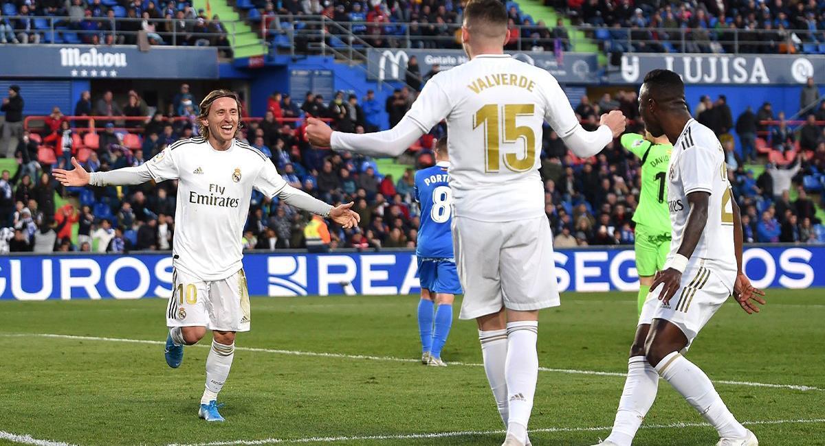 Real Madrid visitará a Getafe este domingo. Foto: Twitter @realmadrid