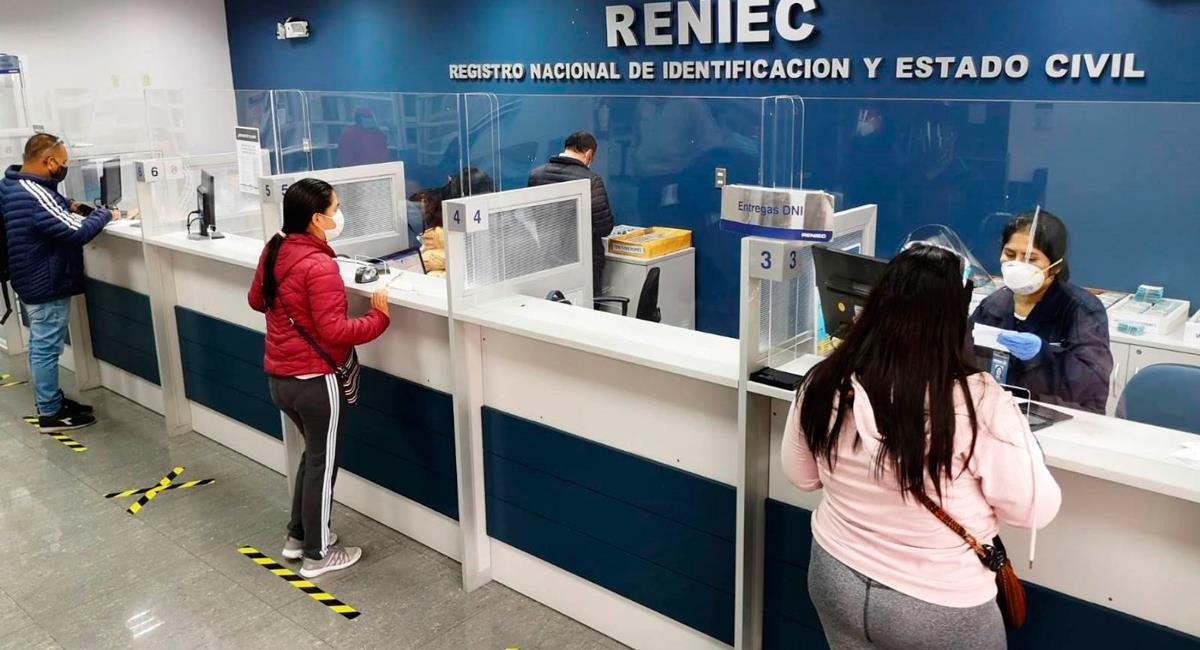 Reniec no atenderá en nivel de zona extrema desde este lunes. Foto: Andina