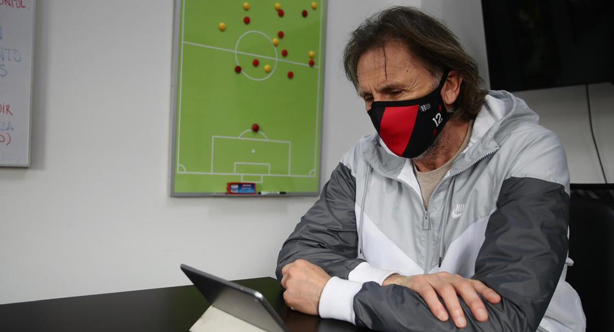 Ricardo Gareca presentará lista de jugadores para la Copa América. Foto: Twitter Selección Peruana