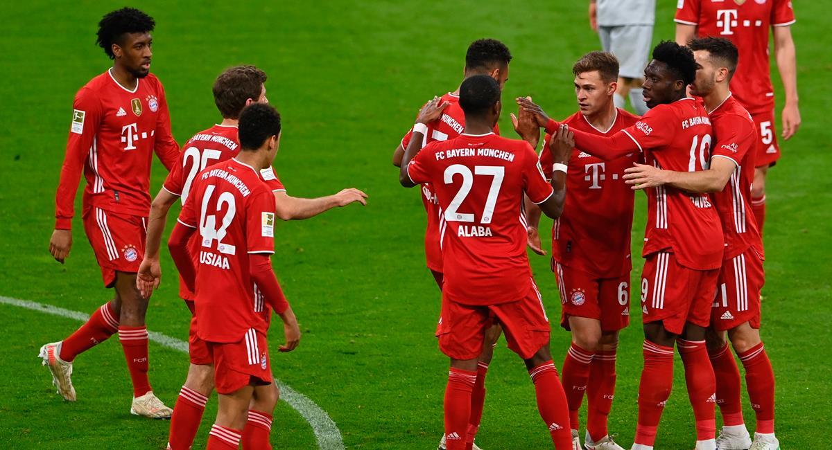 Bayern Múnich salió triunfante ante Bayer Leverkusen. Foto: EFE