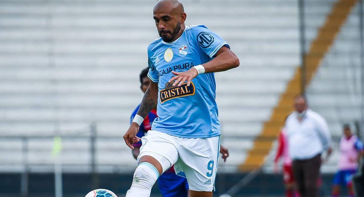 Marcos Riquelme es el nuevo delantero de Sporting Cristal. Foto: Twitter