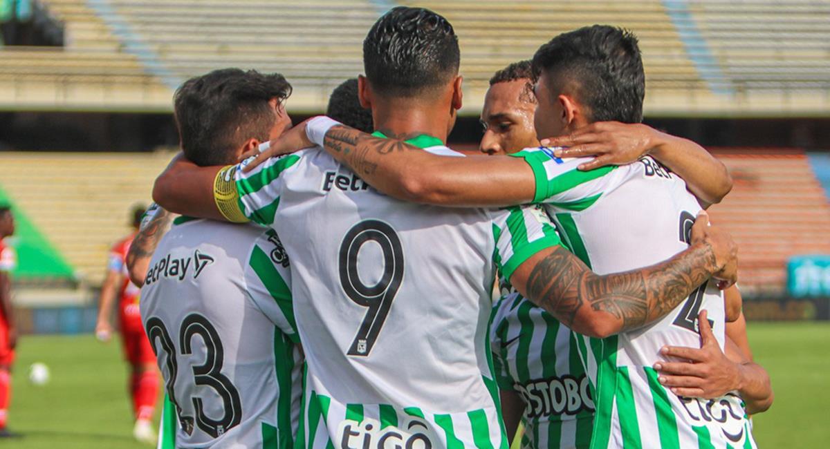 Atlético Nacional quiere los tres puntos en casa. Foto: Twitter Atlético Nacional