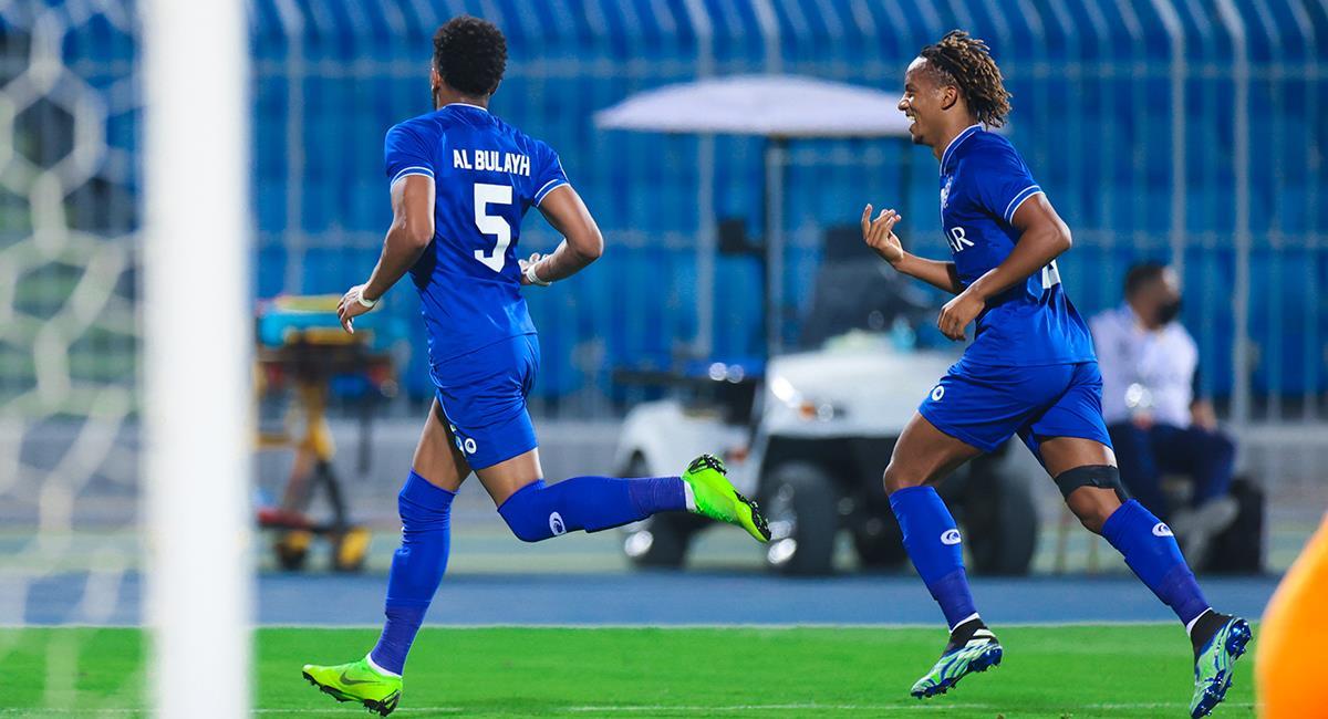 André Carrillo suma su primera victoria en Champions. Foto: Twitter Al Hilal