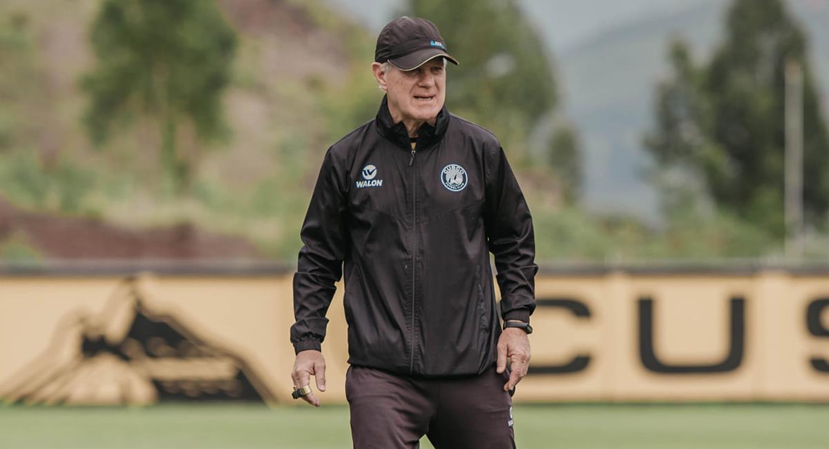 Ramacciotti fue despedido de Cusco FC. Foto: Facebook Cusco FC