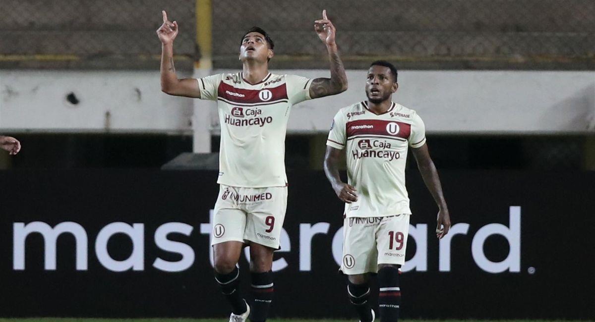 Universitario de Deportes busca su segundo triunfo en la Copa Libertadores. Foto: EFE