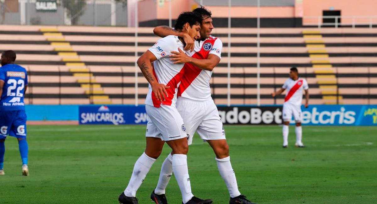 Roberto Ovelar marcó a los 60 minutos el empate. Foto: Twitter @CCDMunicipal