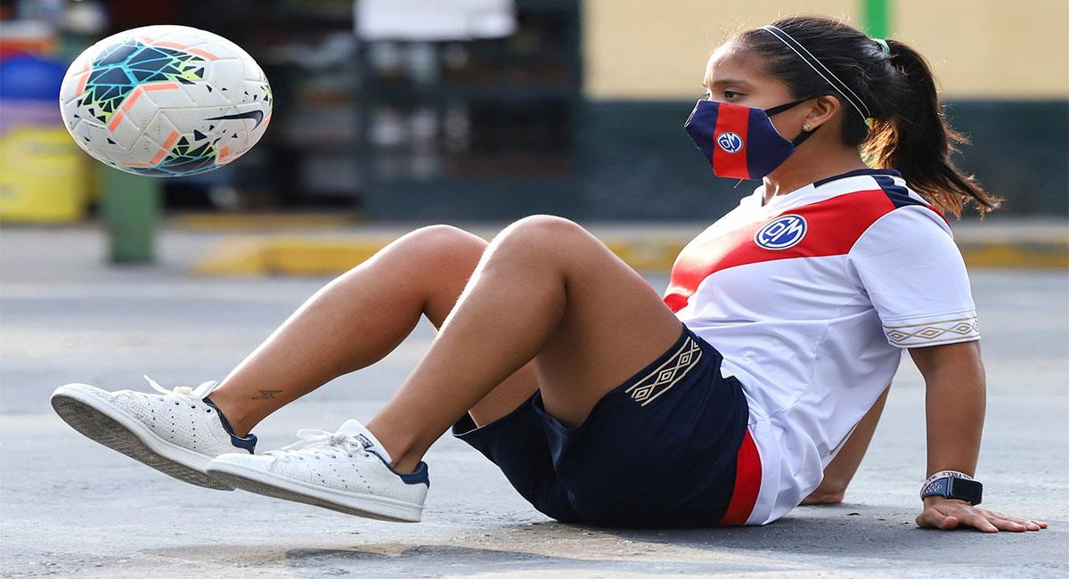 María Claudia Araujo necesita tu apoyo para participar del Mundial de Freestyle. Foto: Twitter @CCDMunicipal
