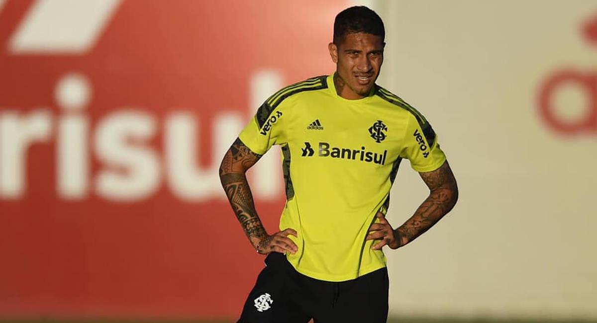 Guerrero es baja en Inter. Foto: Facebook Sport Club Internacional