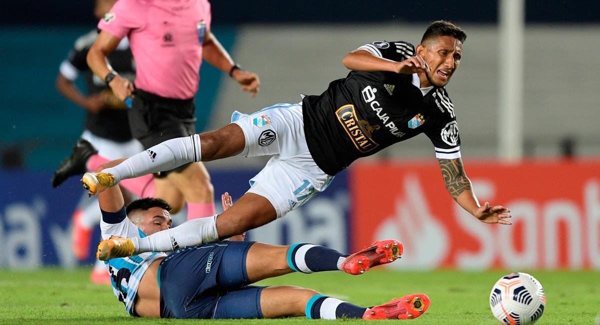 Sporting Cristal cayó en su visita a Racing Club. Foto: EFE