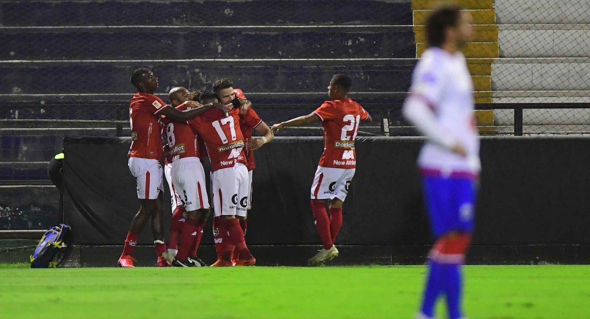 Cienciano goleó a Mannucci en el Callao. Foto: Twitter Liga Profesional