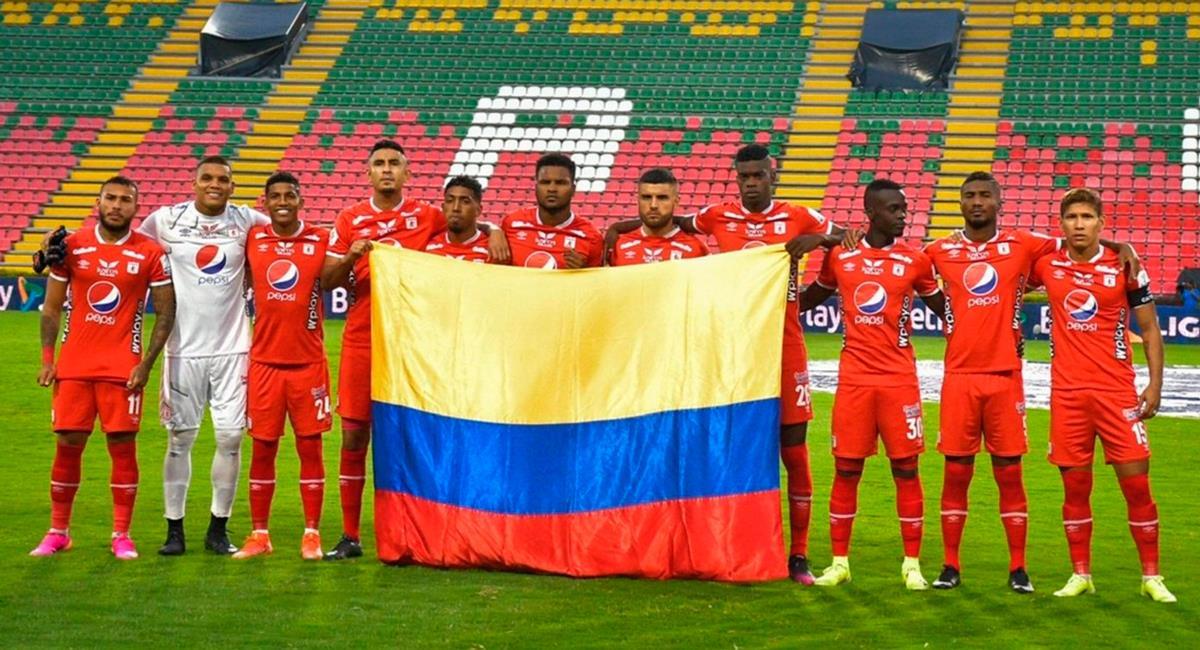 Aldair Rodríguez fue titular hasta el minuto 59. Foto: Twitter @AmericadeCali