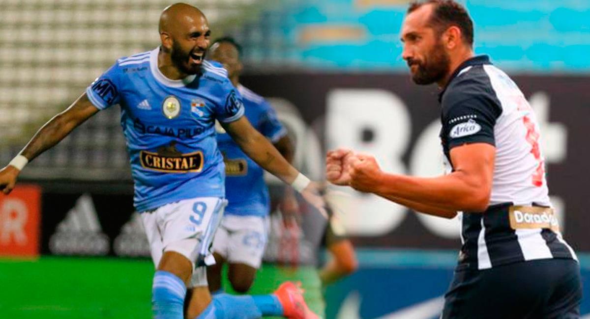 Sporting Cristal se mide a Alianza Lima en el Estadio Nacional. Foto: Twitter