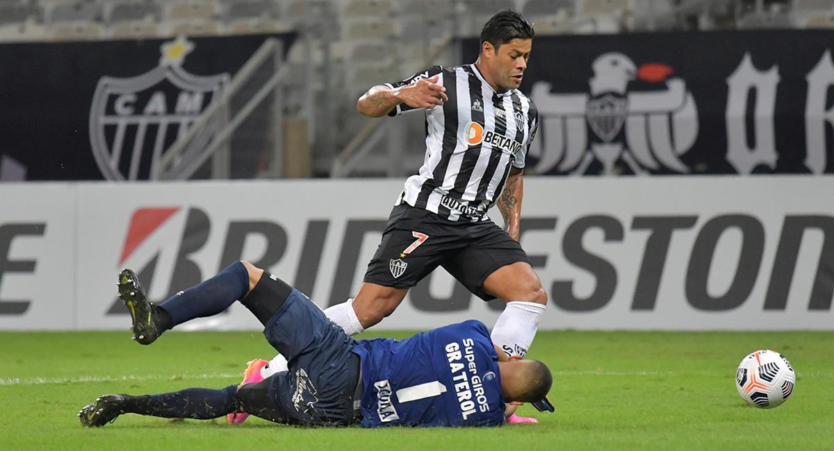 Atlético Mineiro quiere imponer su localía ante Cerro Porteño. Foto: EFE