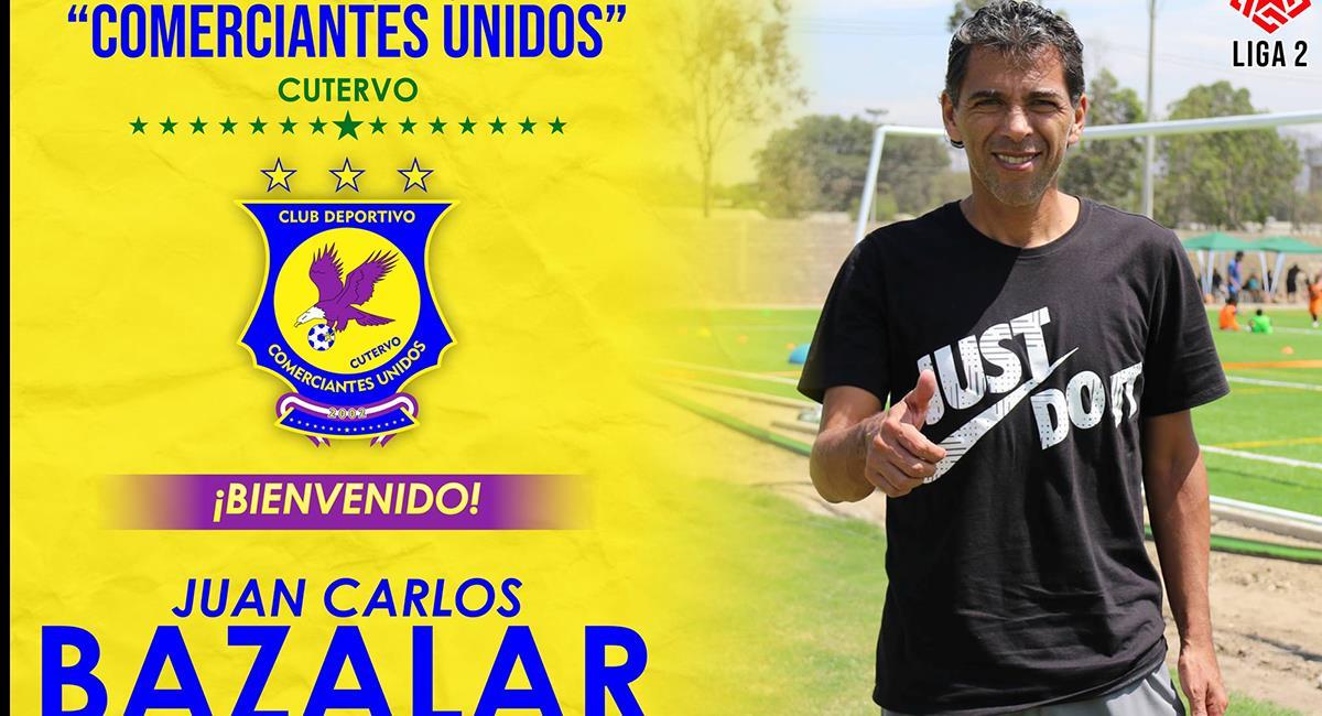 Bazalar toma el mando del club de Cutervo. Foto: Facebook Comerciantes Unidos
