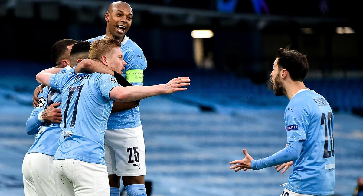 Manchester City a la final de Champions League. Foto: EFE