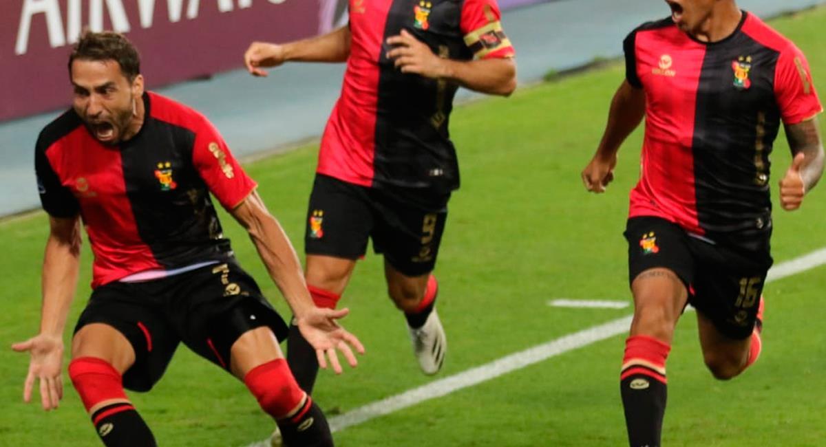 Cristian Bordacahar puso el único gol del partido a los 50 minutos. Foto: Twitter @MelgarOficial
