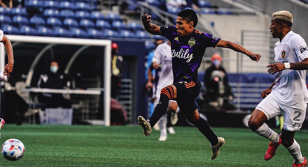 Ruidíaz en el XI ideal de la MLS. Foto: Twitter Seattle Sounders