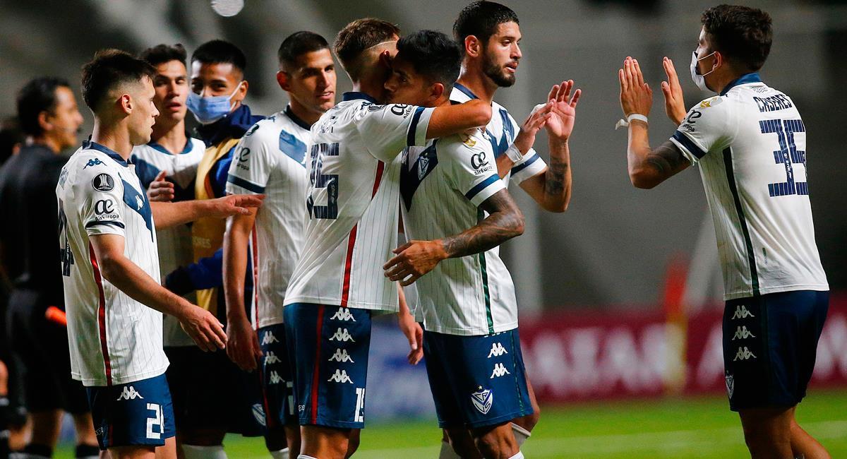 Luis Abram fue titular los 90 minutos en victoria de Vélez. Foto: EFE