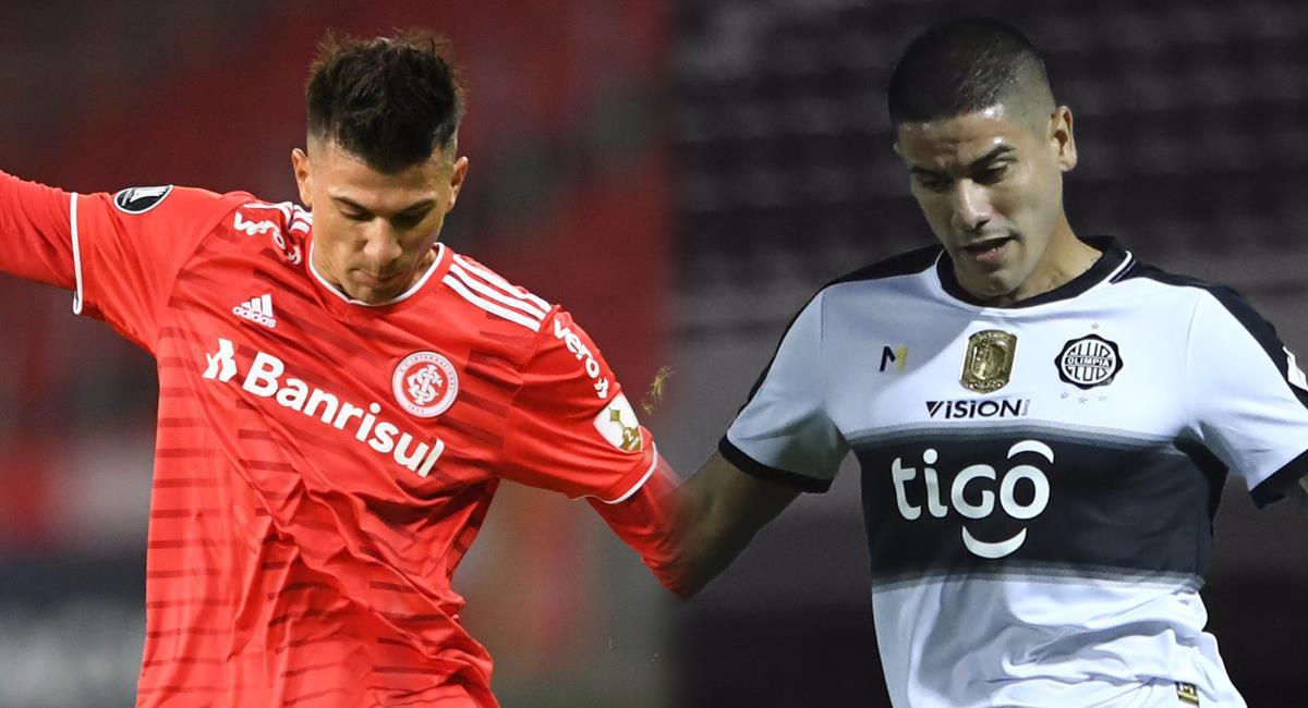 Inter y Olimpia quieren marcar diferencias en el grupo B. Foto: Twitter