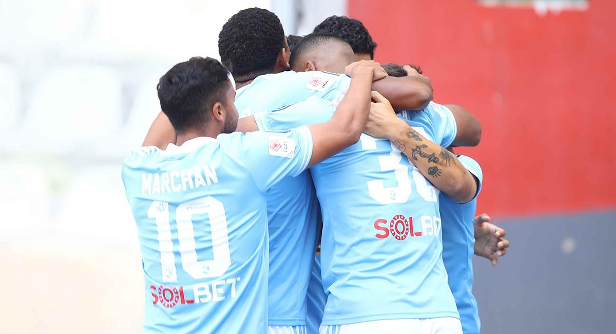 Cristal espera un buen resultado ante Rentistas. Foto: Twitter Club Sporting Cristal