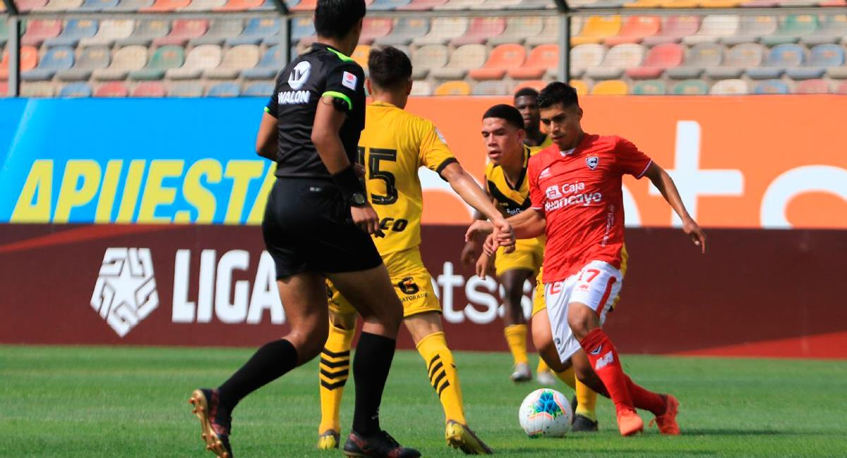 Jorndan Guivin llegó esta temporada a Cienciano. Foto: Twitter @LigaFutProf