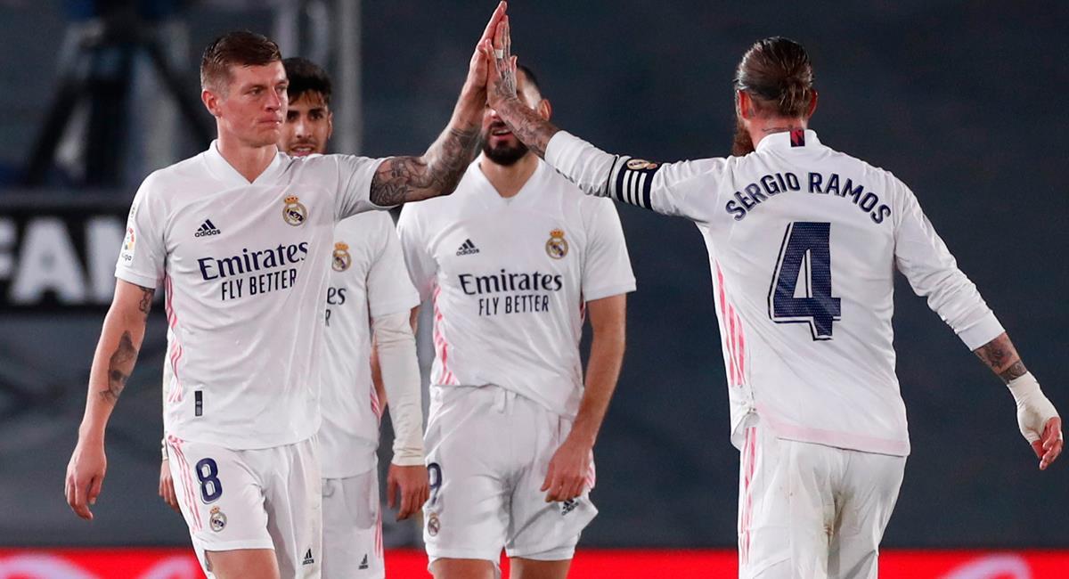 Real  Madrid visitará este miércoles a Chelsea. Foto: Twitter @realmadrid