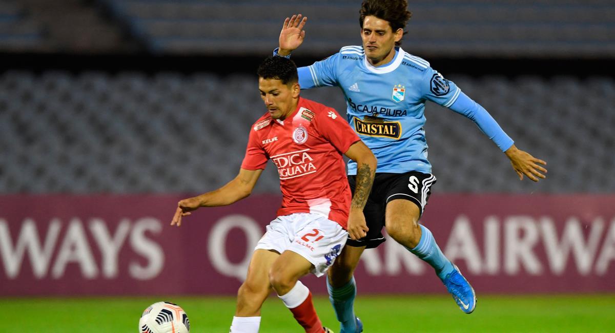 Sporting Cristal solo igualó con Rentistas de Uruguay. Foto: Twitter @Libertadores