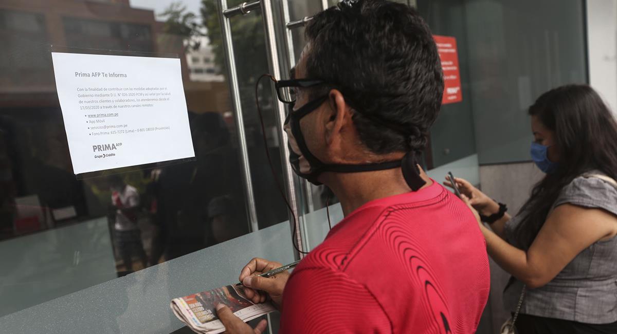 Retiro de AFP se publicó en el diario El Peruano. Foto: Andina