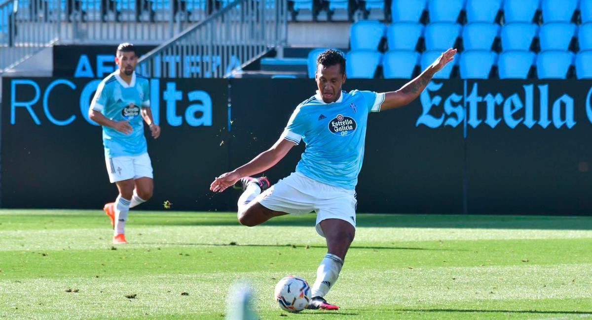 Renato Tapia llegó esta temporada a Celta de Vigo. Foto: Twitter @RCCelta