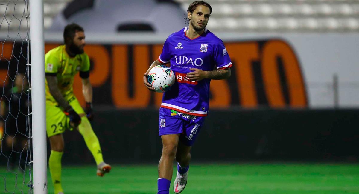 'Felucho' Rodríguez consiguió la igualdad a los 89 minutos. Foto: Twitter @LigaFutProf