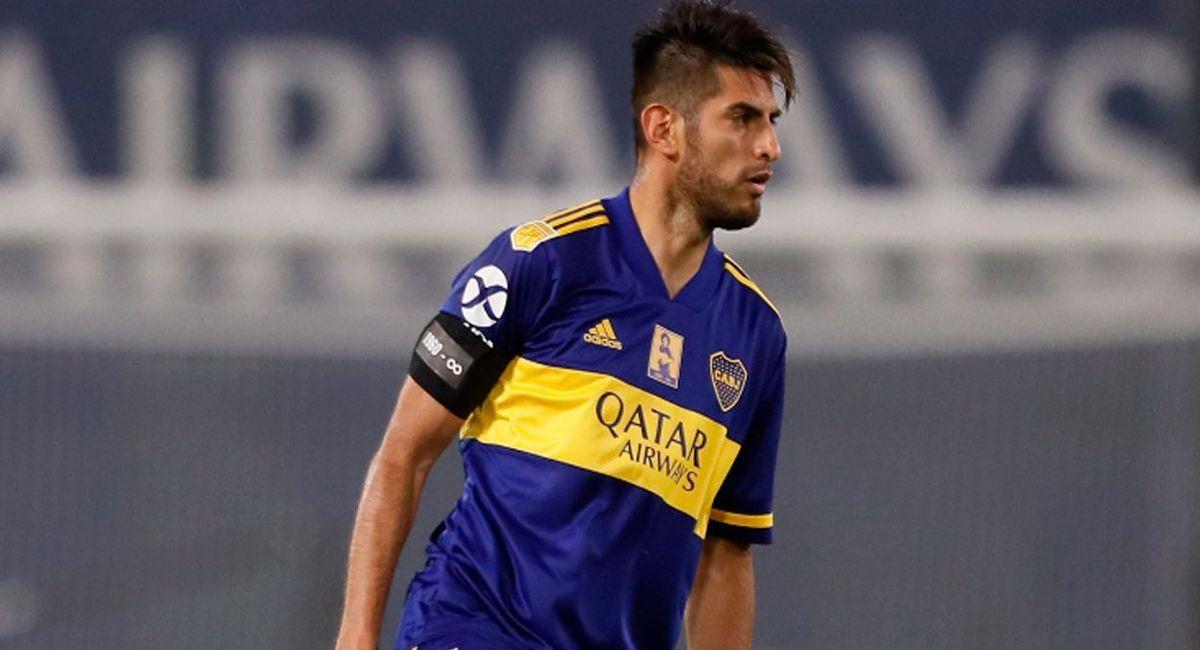 Carloz Zambrano es baja por lesión en Boca Juniors. Foto: Twitter