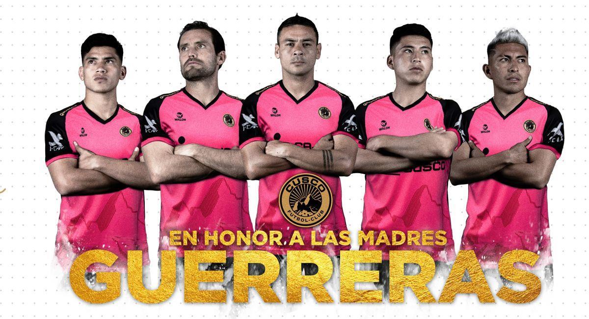 Cusco FC estrenará nueva camiseta ante Sporting Cristal. Foto: Facebook Club Cusco FC