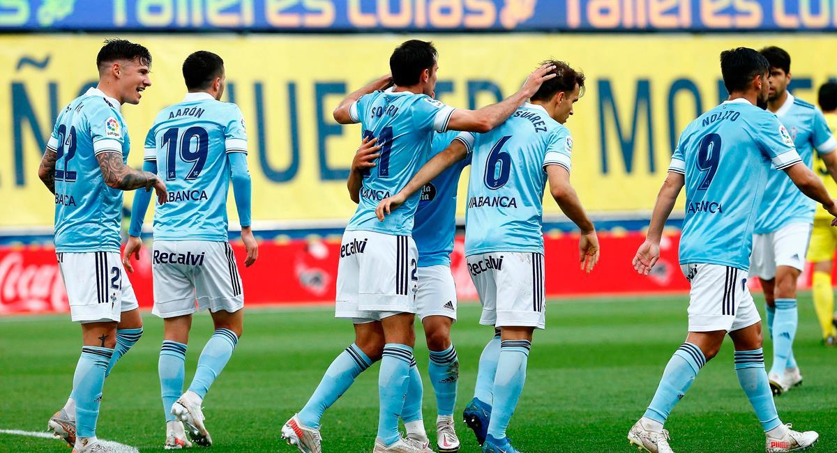 Celta de Vigo sigue imparable en la recta final de la temporada. Foto: EFE