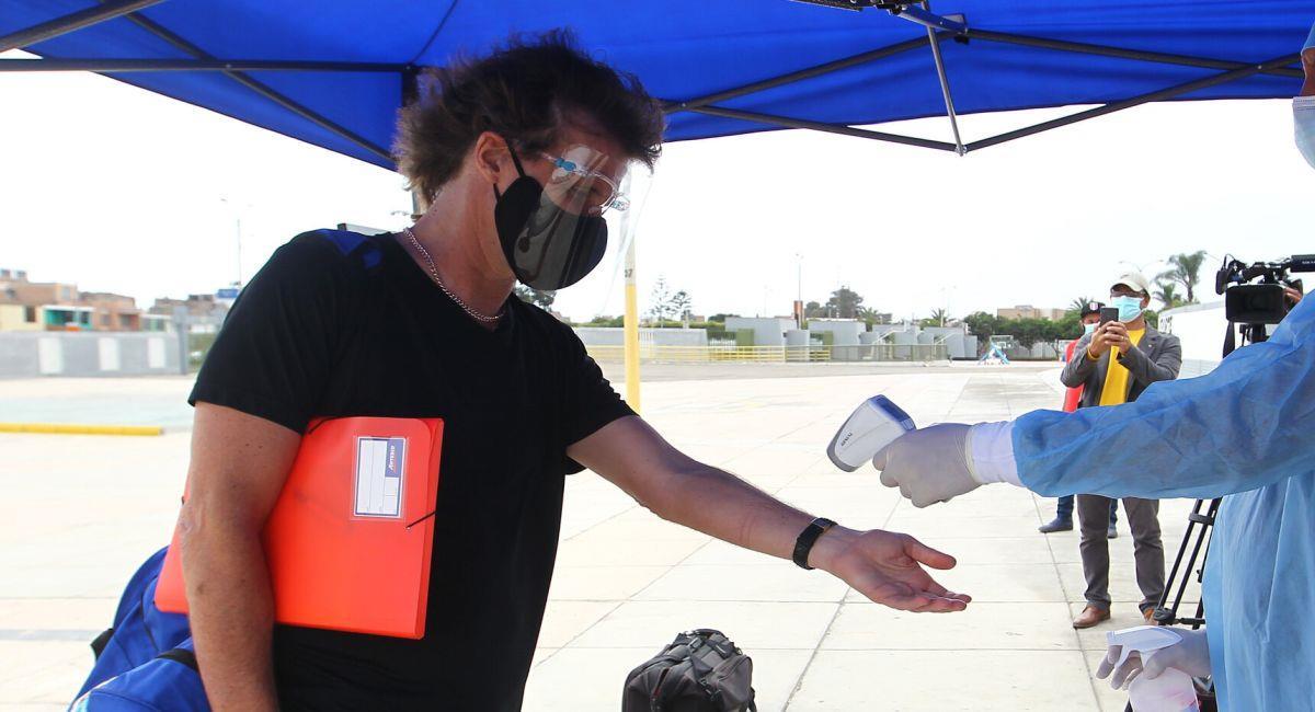 Federico Insúa, exentrenador de Binacional. Foto: Facebook Club Binacional