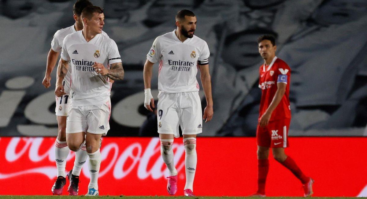 Real Madrid no pudo tomar la punta de LaLiga. Foto: EFE