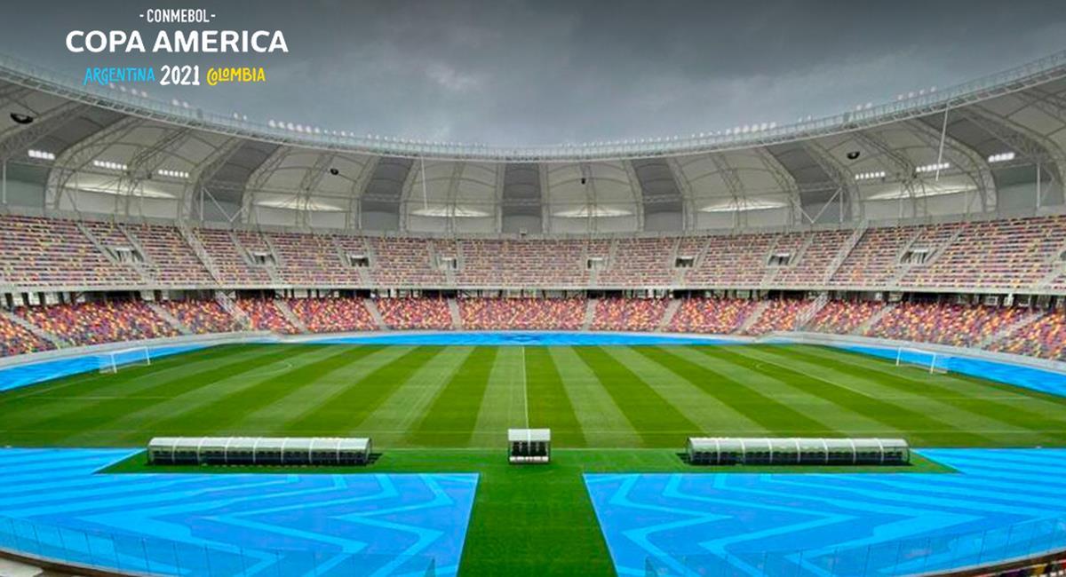 Se evalúan nuevas sedes para la Copa América. Foto: Twitter Copa América