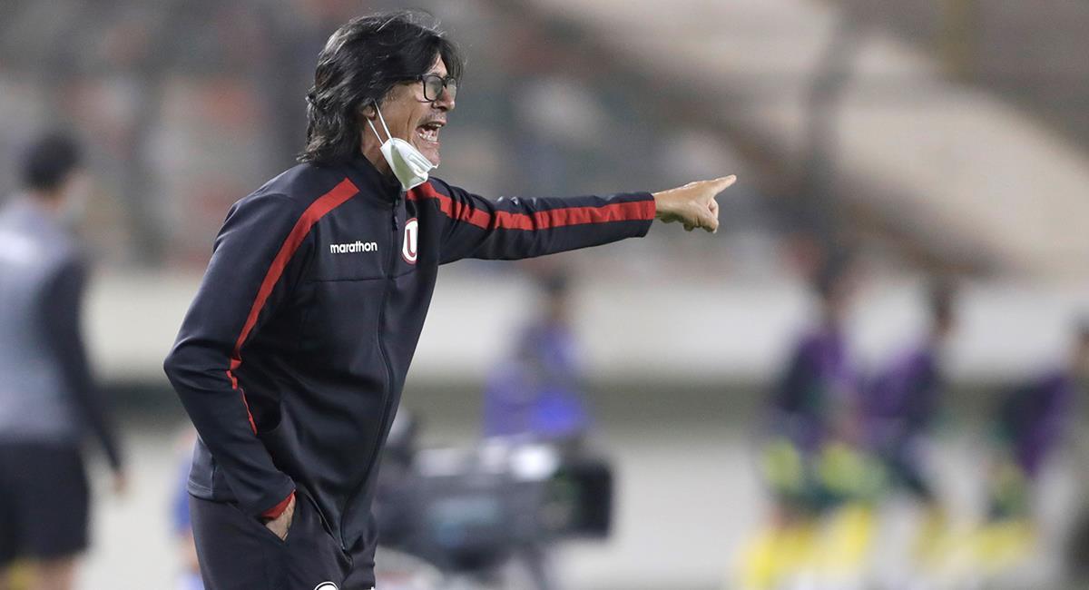 Ángel Comizzo valoró empate en el Monumental. Foto: EFE