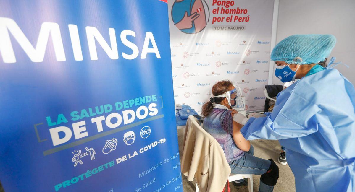El Minsa sigue reportando los casos de COVID-19 en el Perú. Foto: Twitter Minsa