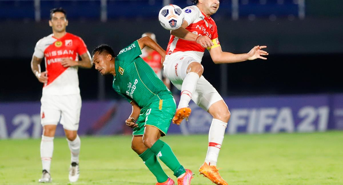 Sport Huancayo suma cuatro derrotas en la fase de grupos de Copa Sudamericana. Foto: EFE