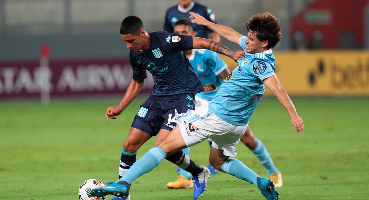 Sporting Cristal llega de caer ante Racing Club. Foto: EFE