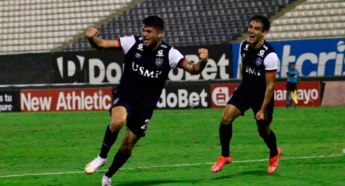 Carlos Monges anotó el único gol del encuentro. Foto: Twitter @LigaFutProf