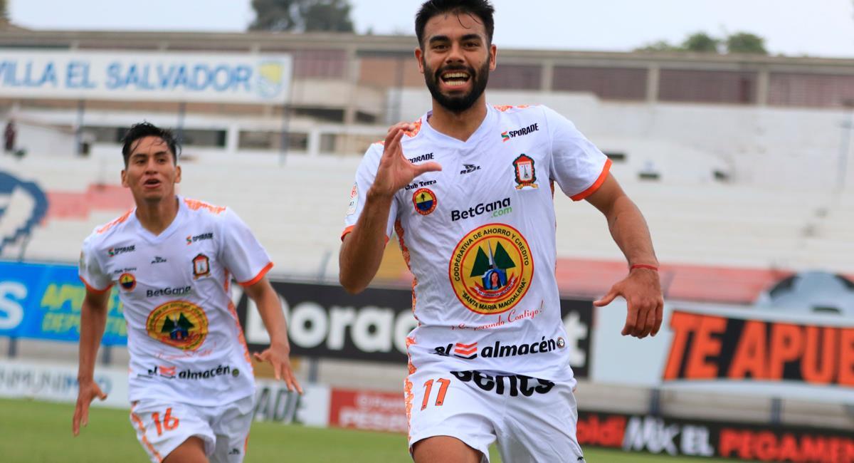 Leandro Sosa marcó un golazo en el final del primer tiempo. Foto: Twitter @LigaFutProf