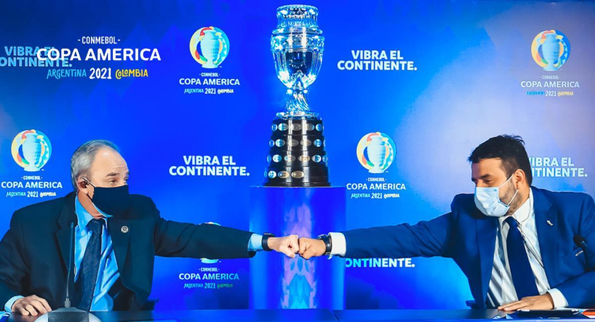Copa América no se jugará en Colombia. Foto: Twitter Copa América