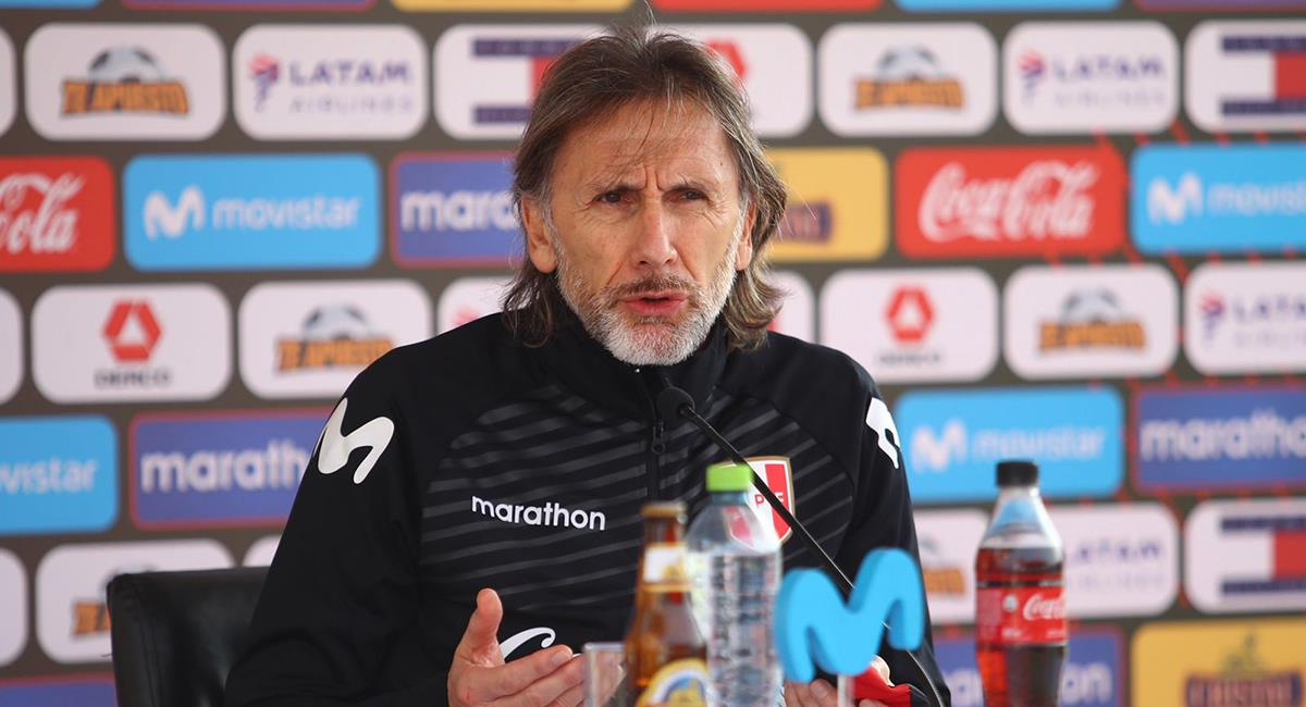 Ricardo Gareca luego deberá enfocarse en la Copa América. Foto: Twitter Selección Peruana