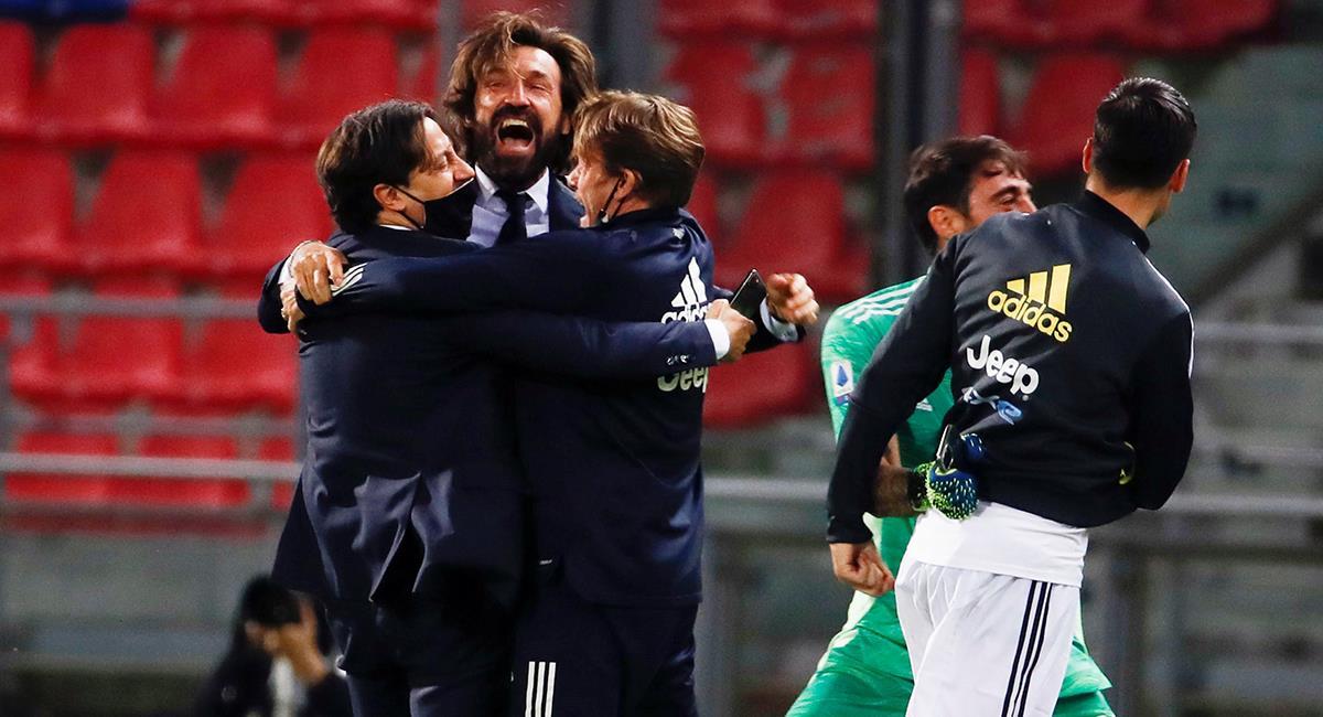 Juventus logró el último cupo a Champions League. Foto: EFE
