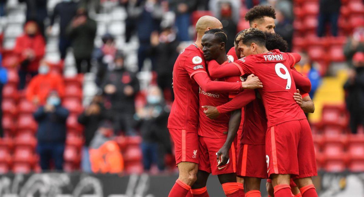 Liverpool seguirá estando presente en la Champions League. Foto: EFE