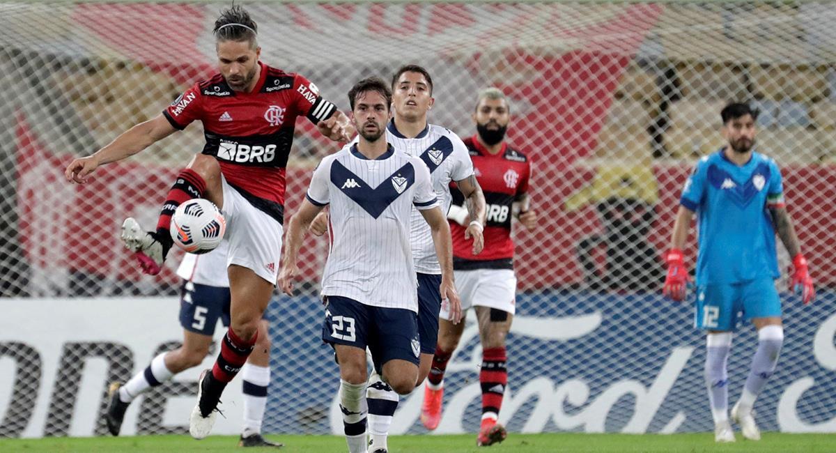 Flamengo y Vélez igualaron en Libertadores. Foto: EFE