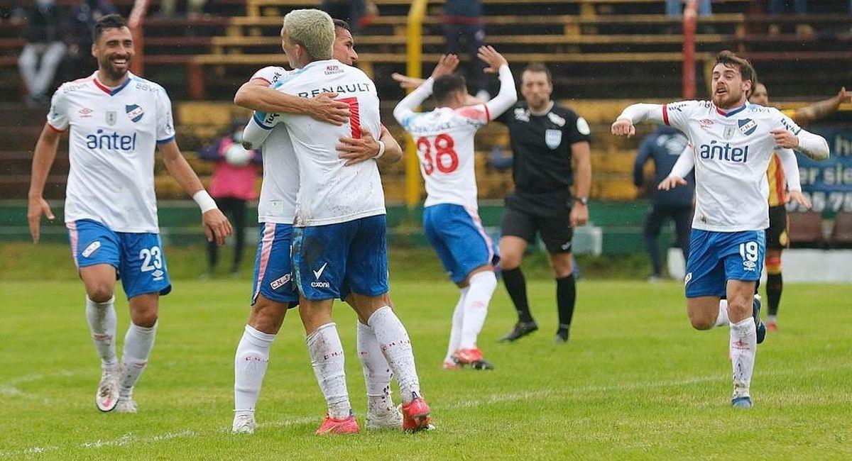 Nacional de Uruguay recibe a Argentinos Juniors por la Copa Libertadores. Foto: Facebook Club Nacional
